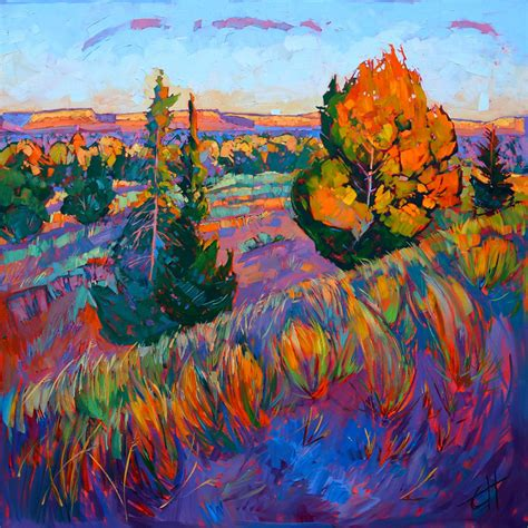 colorful painting nature colorful landscapes paintings impressionism