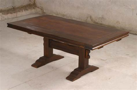 rustic trestle dining table western dining tables free