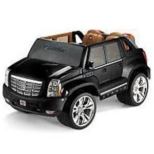 Cadillac Escalade Ext Power Wheels Power Wheels Black Cadillac Escalade 2008 Ebay
