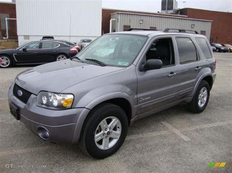 ford escape grey tungsten grey metallic 2007 ford escape hybrid 4wd