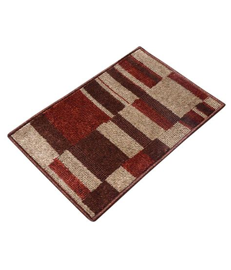 Small Carpet Mats by Recron Multicolor Small Floor Mat Buy Recron Multicolor