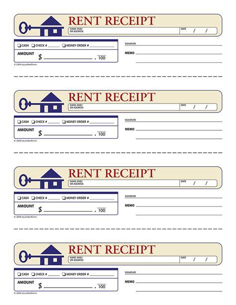 Rent Receipt   EZ Landlord Forms