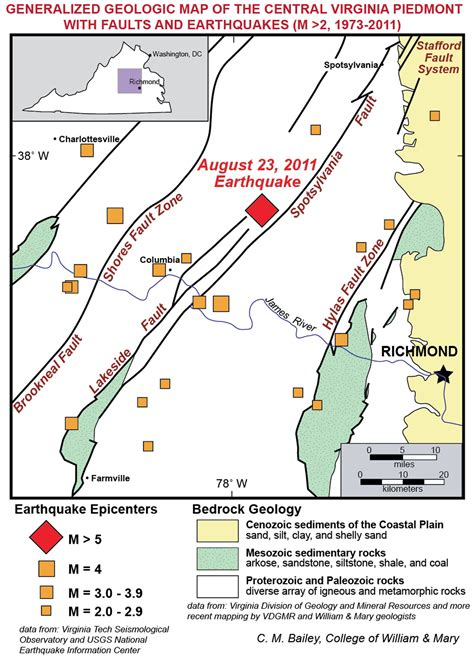 tracks seismic activity in pennsylvania penn state university ancient faults still prove to be powerful
