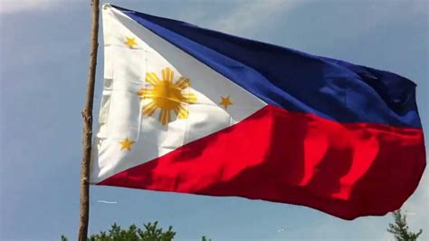 Watawat Ng Pilipinas Youtube Philippines National Flag Coloring