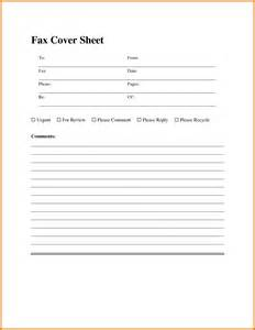 fax cover sheet template word 5 fax cover sheet template for word itinerary template
