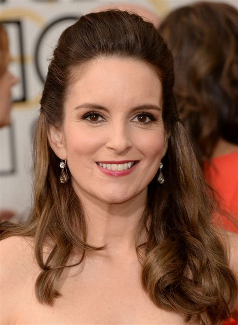 Tina Fey Hairstyle by Tina Fey Half Up Half Hairstyle For Homecoming