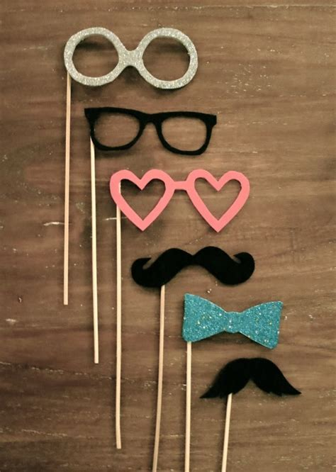 Handmade Photo Booth Props - 17 best images about photo booth props on
