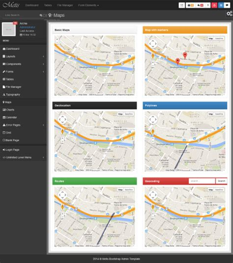 bootstrap themes free map templates bootstrap maps bootstrap admin template download