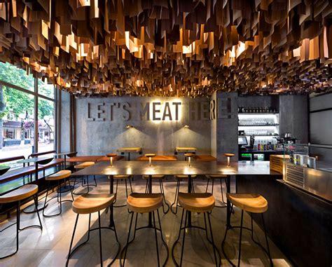 design restaurant new urban restaurant by yod design studio interiorzine