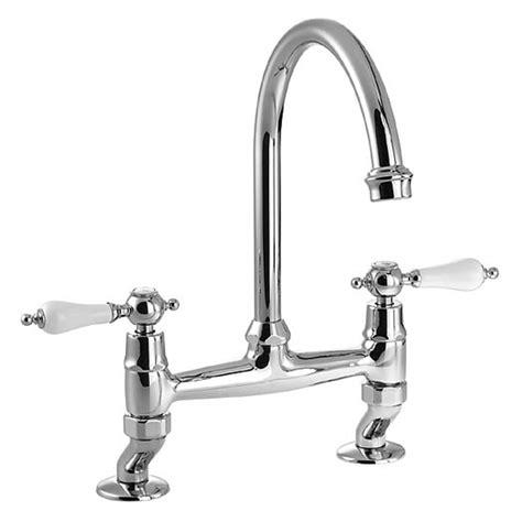 Buy Kitchen Mixer Taps B Buy Elegance Bridge Kitchen Mixer Tap Chrome At1029 Clearwater