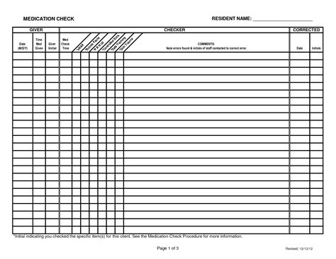 controlled log template 7 best images of printable patient medication log sheet