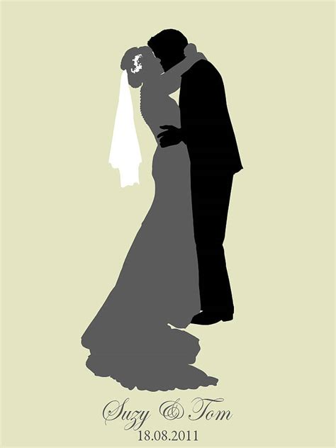 Wedding Silhouette by Wedding Silhouette Cliparts Co