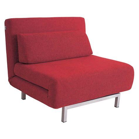 chaise sleeper chair j m red or grey fabric sleeper chair chaise