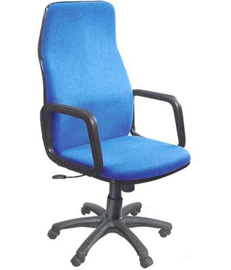Plastic Office Chair by Duron Blue Plastic Office Chair Buy At Best Price