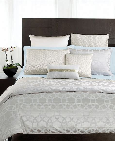macy s coverlet hotel collection rings bedding digs pinterest