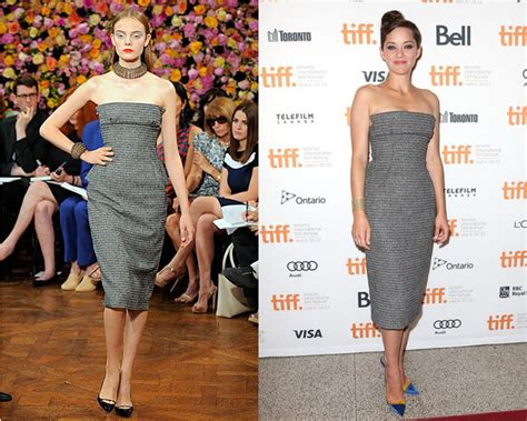 Catwalk To Carpet Marion Cotillard In Chanel by And I From The Runway To The Carpet Madman