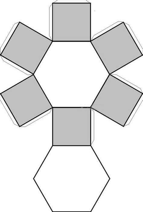 figuras geometricas triangulares recortables de figuras geom 233 tricas prisma hexagonal