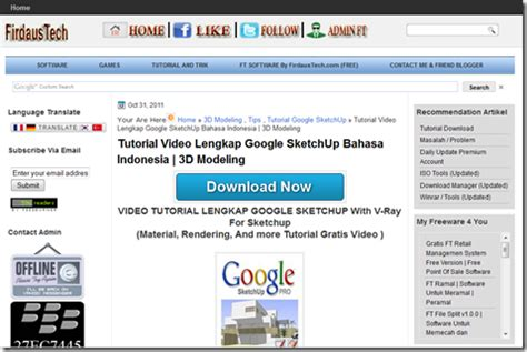 tutorial sketchup bahasa indonesia lengkap tutorial google sketchup bahasa indonesia amin blog s