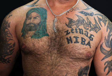 islam and tattoos pictured shiite tattoos a show of pride amid tensions