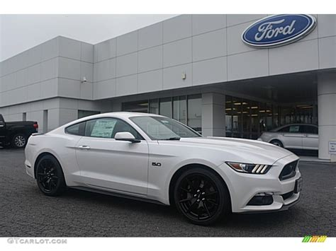 white mustang 2017 white platinum ford mustang gt coupe 114901479