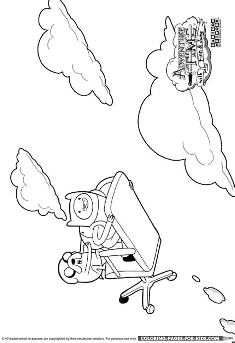 adventure time characters pages coloring pages