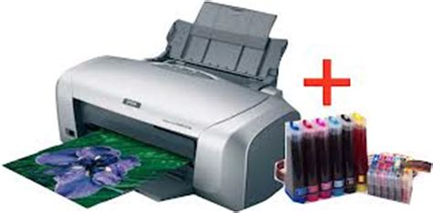 Printer Epson R230 Baru epson r230 printer with drum id card printing system clickbd