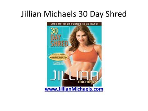 Jillian Shed And Shred Calories Burned by Jillian 30 Day Shred