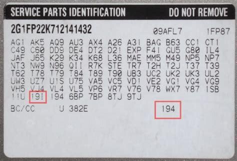 interior trim code guide seat doctors