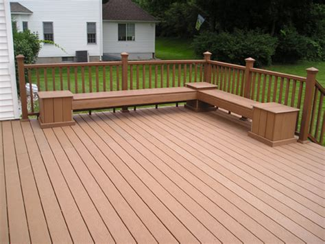 deck bench seating image gallery deck benches