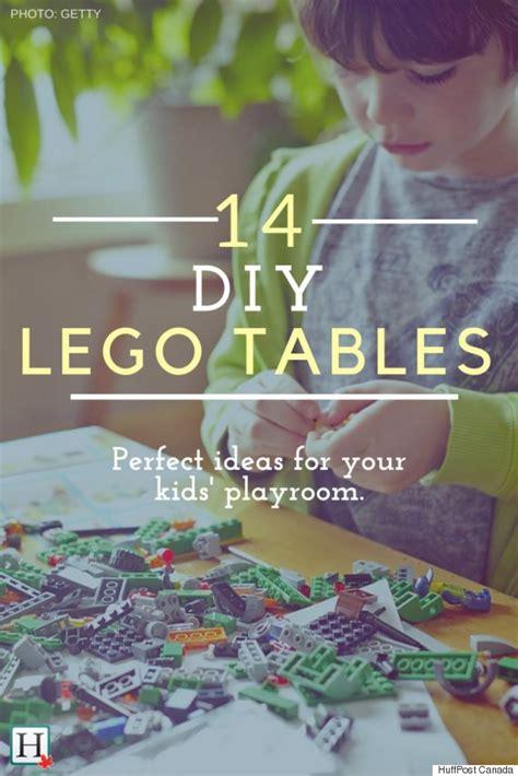 14 Diy Ideas For Your Lego Table 14 Diy Ideas For Your Playroom