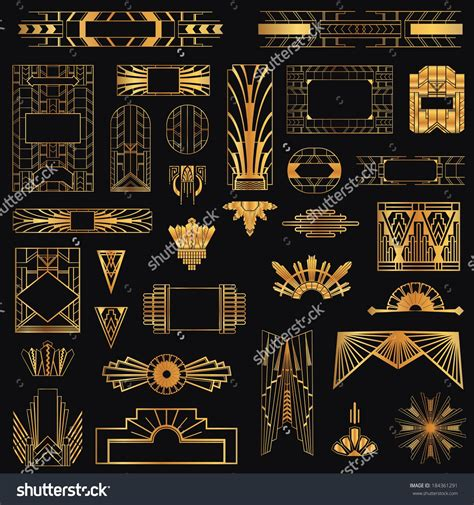 design elements of art deco art deco elements graphic designs google search art