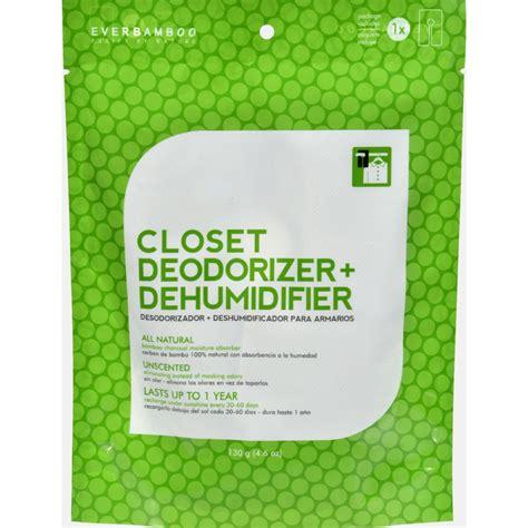 Closet Deodorizers by Bamboo Closet Deodorizer And Dehumidifier 4 6 Oz