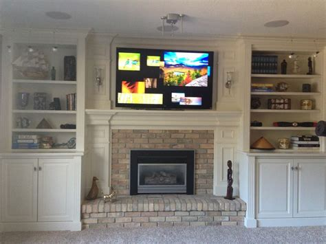 Fireplace Mantel With Shelves On Side by Pin By Ginny On Built In Shelves