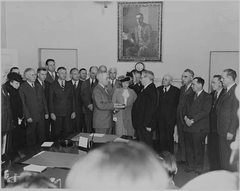 file photograph of harry s truman taking the oath of