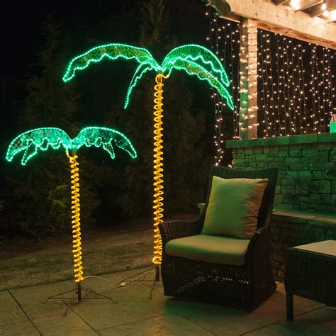 led rope light led palm tree decoration led buy led palm