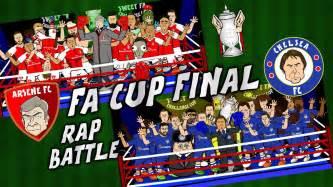 www rap fa com fa cup final rap battle arsenal vs chelsea 2017 preview
