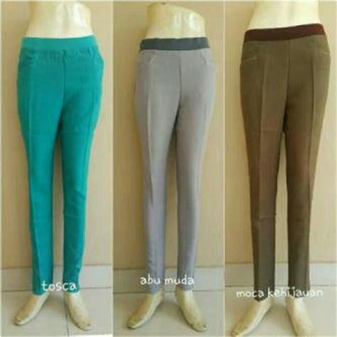 Celana Big 3 jual celana kerja wanita jumbo big size celana bahan