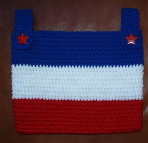 crochet walker bag pattern wheelchair tote bag free pattern crochet pattern ideas