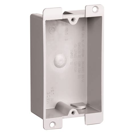 low profile light switch box p108w p1 08 w legrand pass seymour single shallow