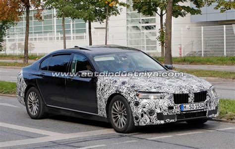 Bmw G30 Lci 2020 by Spied 2020 Bmw 7 Series Hides Its New Look Auto News