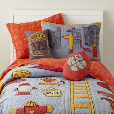 19 Best Images About F F Room On Pinterest Candy Jars Fireman Crib Bedding