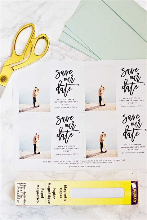 how to make your own save the date cards 25 best ideas about save the date magnets on