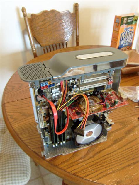 spray paint motherboard pc inside xbox360 don the guru