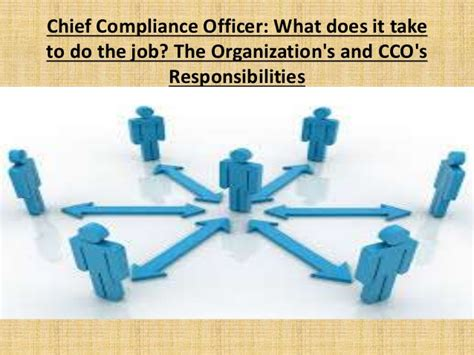 How Does It Take To Be A Officer by Chief Compliance Officer What Does It Take To Do The