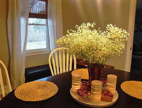 Dinner Table Centerpiece by Centerpieces For Dining Room Tables Homesfeed