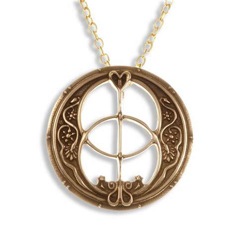 chalice well pendant bronze st justin