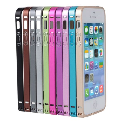 Iphone 5 5s Aluminium Metal Bumper buy luxury ultra thin aluminium metal bumper frame