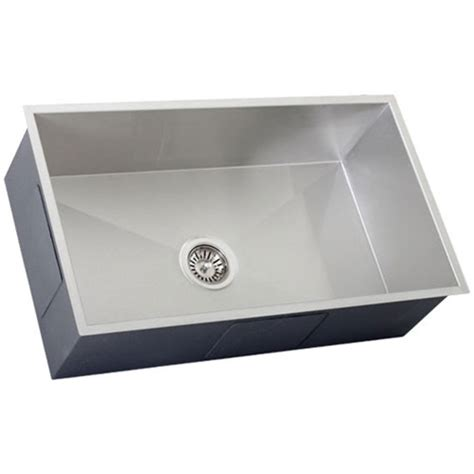 16 stainless steel kitchen sinks ticor s6503 undermount 16 stainless steel kitchen sink