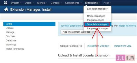 how to install a new template in joomla 3 x 7 steps with