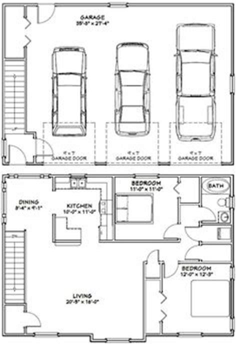 3 car garage with apartment floor plans 1000 ideas about garage apartment plans on pinterest